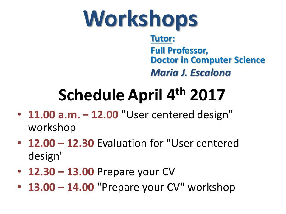 Workshop 04.04.2017 for Faculty site